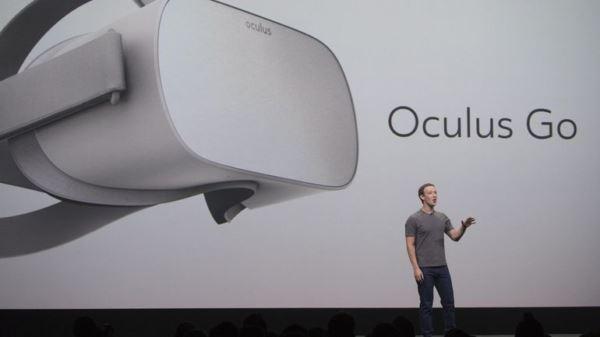 mark zuckerberg oculus go